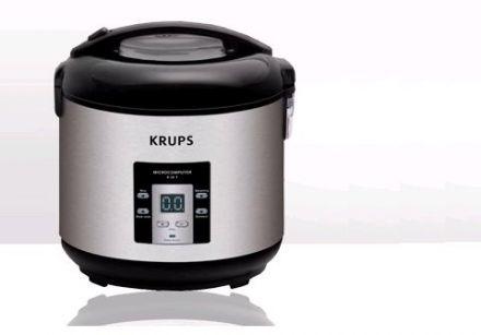 cuiseur riz 4 en 1 de krups test par gourmetpedia. Black Bedroom Furniture Sets. Home Design Ideas