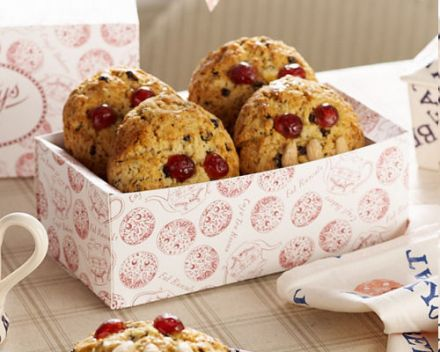 Yorkshire Fat Rascals - biscuits aux raisins