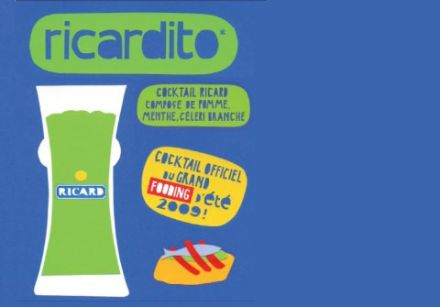 Ricardito, cocktail du grand fooding d'été