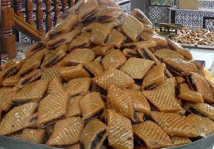 Makroud (pâtisserie tunisienne aux dattes)