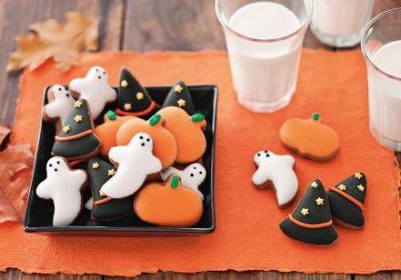 Biscuits de l halloween recette sur gourmetpedia la r f rence des gourmets gourmands - Recette gateau halloween facile ...