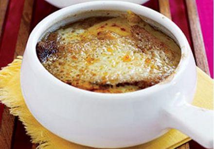 soupe gratin e l 39 oignon recette sur gourmetpedia. Black Bedroom Furniture Sets. Home Design Ideas
