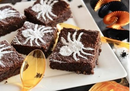 Brownie d'Halloween à la chicorée
